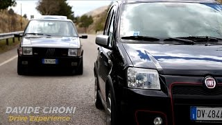 getlinkyoutube.com-Fiat Panda 100 HP vs Uno Turbo - Davide Cironi Drive Experience (ENG.SUBS)