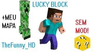 getlinkyoutube.com-Meu Mapa #1 - Com Lucky Block Sem Mod