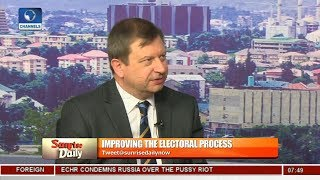 British Envoy Applauds INEC For Hitch-free Ekiti Governorship Election Pt 1 | Sunrise Daily |