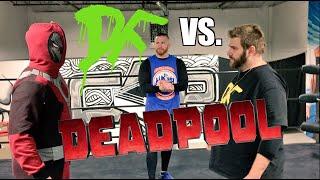 getlinkyoutube.com-DEADPOOL WRESTLING SCHOOL SCREWJOB! Grim Wrestles MJ Appleballs Epic Match w/ Curt Hawkins!