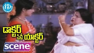 getlinkyoutube.com-Doctor Cine Actor Movie Scenes - Suryakantam Hurts Jayasudha With Her Words || Krishna || Kavitha