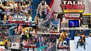 NEW WWE MATTEL FIGURES!!! NEW YORK TOY FAIR 2018 - DAY ONE