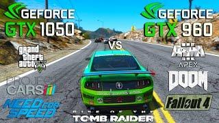 getlinkyoutube.com-GTX 1050 vs GTX 960 Test in 7 Games (i3 6100)