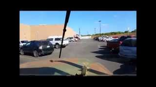 "getlinkyoutube.com-Deuce and a Half - ""How to leave a Walmart parking lot"""