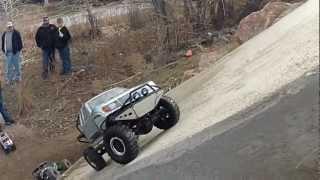 getlinkyoutube.com-Jan. Sand Creek GTG - Axial Wraith SCX10 RC4WD TF2 Losi Mini Crawler - SCALE Trucks - COLORADO RC