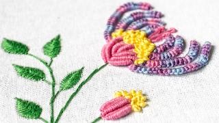 Hand Embroidery Designs   DIY Stitching Ideas   HandiWorks #104