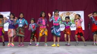 KIDs Lungi DANCE Performance at India Fest Milwaukee