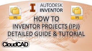 getlinkyoutube.com-Detailed Project (IPJ) Guide & Tutorial | Autodesk Inventor