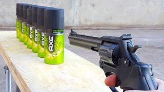 EXPERIMENT GUN vs AXE BODY SPRAY