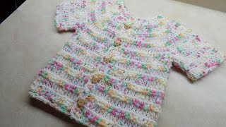 getlinkyoutube.com-CROCHET How to #Crochet Easy Toddler shirt sweater #TUTORIAL #245 LEARN CROCHET