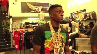 getlinkyoutube.com-Lil Boosie BadAzz & Gutta Tv Go Shopping, Plus Meet & Greet With Fans