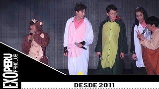 getlinkyoutube.com-[SUB ESPAÑOL] 16/03/20 EXO @ Reto de Baile en Pijamas de Animales