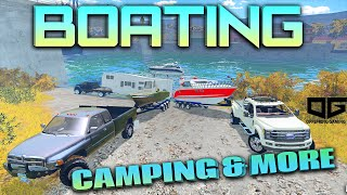 getlinkyoutube.com-Farming Simulator 2015 - Going Boating and Camping!!
