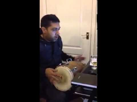jaz singh digpal playing dholki to manak E time naal