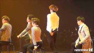getlinkyoutube.com-150506 INFINITE JAPAN TOUR DILEMMA ENCORE Just Another Lonely Night Woohyun Fancam