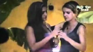 getlinkyoutube.com-bbb 11 festa rasta   Diana seduz Natalia