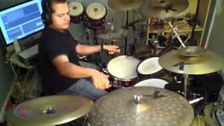 getlinkyoutube.com-Santana Black Magic Woman drum cover