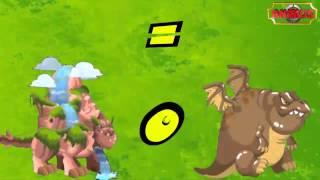 getlinkyoutube.com-Dragón City - Dragones tipo Tierra (Combinaciones)