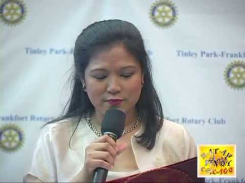 HATAW PINOY CHICAGO Tinley Park-Frankfort Rotary Club Lea Salonga Pre Show 3