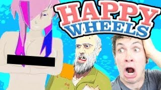 getlinkyoutube.com-Happy Wheels - NAKED ANIME GIRL