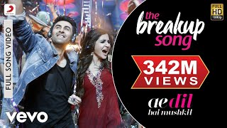 The Breakup Song - Ae Dil Hai Mushkil | Ranbir | Anushka | Pritam | Arijit width=