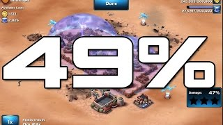 Star Wars: Commander - Level 5 - Successful Rebel Base Defence at 49%