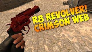 getlinkyoutube.com-CS GO - R8 Revolver Crimson Web (Factory New) Showcase!