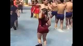 Sexy Indian Girl Dance In Wet Clothes