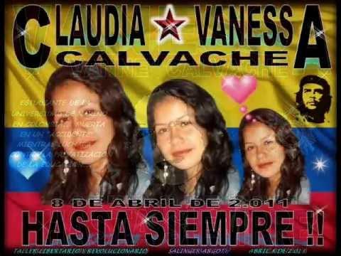 CANCIÓN A CLAUDIA VANESSA CALVACHE. MÚSICA REVOLUCIONARIA COLOMBIANA