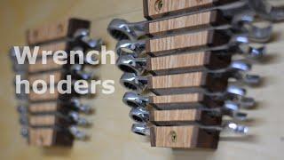 getlinkyoutube.com-Tool wall - Wrench holder
