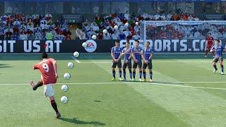 getlinkyoutube.com-FIFA 17 ALL FREE KICKS TUTORIAL   TRIVELA, KNUCKLEBALL, DRIVEN, RABONA !