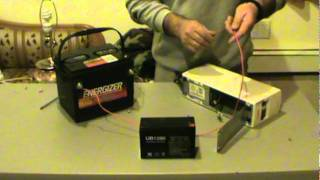 getlinkyoutube.com-تعلم كيف تحول كهرباء من 12 فولت الى   220 فولت