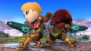 getlinkyoutube.com-SAMUS MII GUNNER DLC Gameplay | Super Smash Bros. Wii U