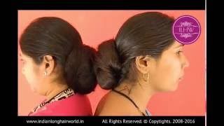 getlinkyoutube.com-Two Rapunzel Hairstyling Each Other ( Neelam & Vaishal)