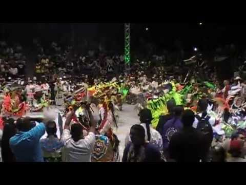 North Bear - Men's Fancy - Contest Song - Gathering of Nations Powwow 2013