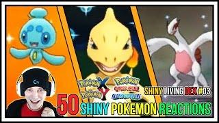 getlinkyoutube.com-50 Shiny Pokemon Live Reactions! | Shiny Living Dex #101-150 | Pokemon X and Y - Pokemon ORAS