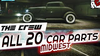 getlinkyoutube.com-The Crew - All Hidden Car Part Locations MIDWEST - Achievement/Trophy Guide - Hot Rod Scrap Salvager