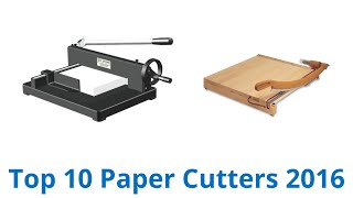 getlinkyoutube.com-10 Best Paper Cutters 2016