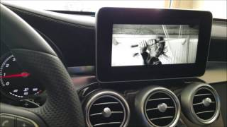 getlinkyoutube.com-How to enable video in motion in a Mercedes Benz 2016 GLC 300