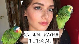 getlinkyoutube.com-Natural Dewy Winter Makeup Tutorial w/Birds | Jessica Clements
