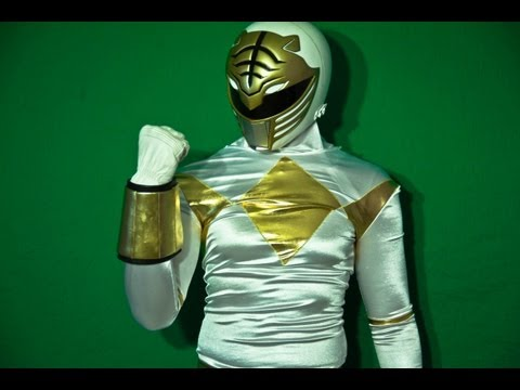 MMPR White Ranger Spandex Review