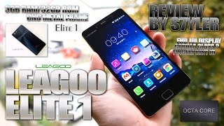 "LEAGOO Elite 1 (Review) 5.0"" JDI FHD, Front Fingerprint ID - Video by s7yler"