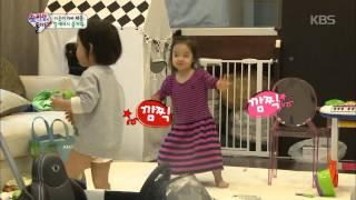 getlinkyoutube.com-[HIT] 슈퍼맨이 돌아왔다-차태현 딸 차태은, 노래에 맞춰 '무아지경 댄스'.20150308