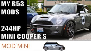 getlinkyoutube.com-My 244HP R53 MINI Cooper S Mods & a test drive