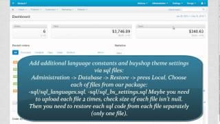 getlinkyoutube.com-BuyShop Cs-Cart theme - installation video manual