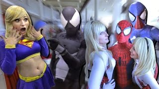 Spider-Man x Spider-Verse Awesome Comic Con Adventure Fan Film