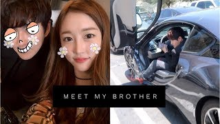 Meet My Brother! + New Friends in L.A! ft. sleightlymusical, ariasaki | Vlog #67