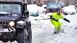 getlinkyoutube.com-Snowboarding New York City