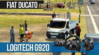 getlinkyoutube.com-Euro Truck Simulator 2 - FIAT DUCATO TÜRK KAMYONETİ [Logitech G920]