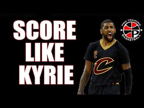 How To Score Like Kyrie Irving   Kyrie Euro Step   Pro Training Basketball